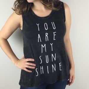 American Age You Are My Sunshine Graphic Tank